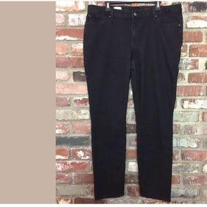 GAP Jeans Curvy Skinny Black Women's 35L Stretch.